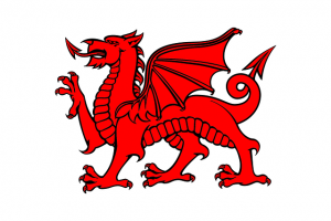 Red Dragon - Flag of Wales